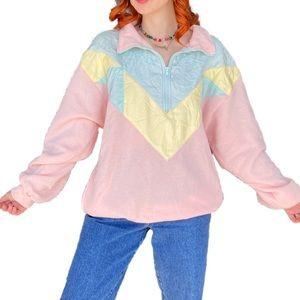Precious Easter pastel track jacket